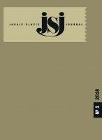 Judaic-Slavic Journal. 2018, № 1