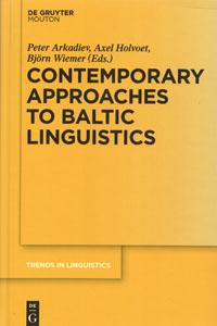 Contemporary Approaches to Baltic Linguistics. De Gruyter, 2015.