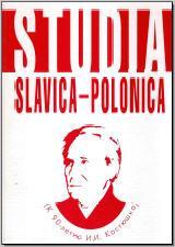 STUDIA SLAVICA – POLONICA (К 90-летию И. И. Костюшко). М., 2009. - обложка книги